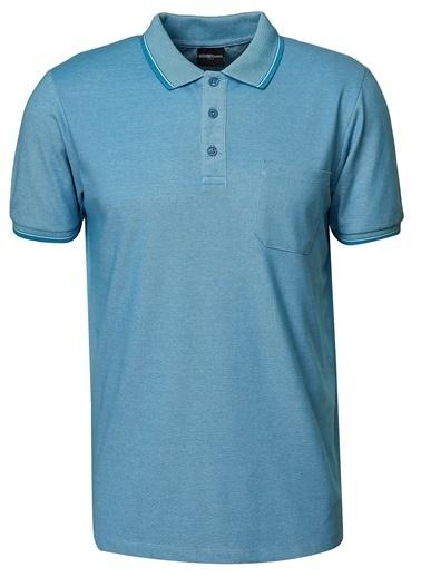 Altınyıldız Classics Altınyıldız Classic Mavi T-Shirt Mavi